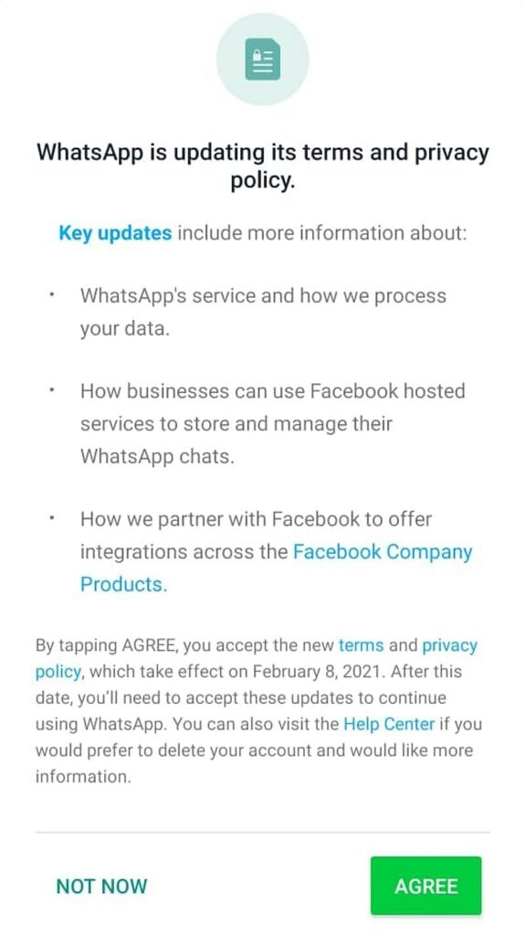 WhatsApp Update News : WhatsApp New Privacy Policy 2021 and WhatsApp New Terms And Condition : Detail Explained
